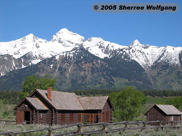 Chapel of the Transfiguration and the Tetons