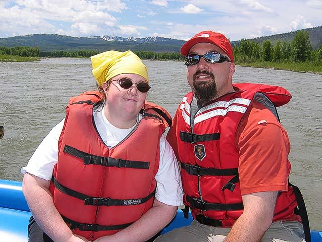 Sherree & Dan On the Snake River